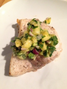swordfish with salsa
