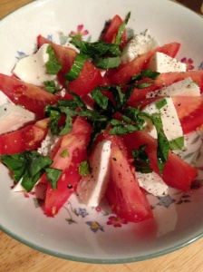 wedge tomato salad