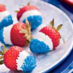 patriotic strawberries